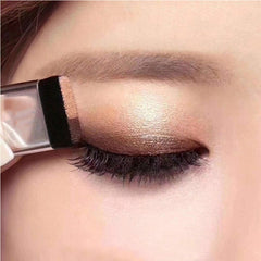 Korean Dual-Color Single-Swipe Eyeshadow 3-In-1 Kit