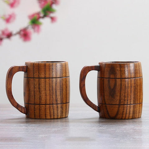 Handmade Hungarian Traditional Wooden Mug