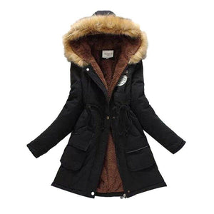 01638b919 Women's Winter Coat – Solid Emperor