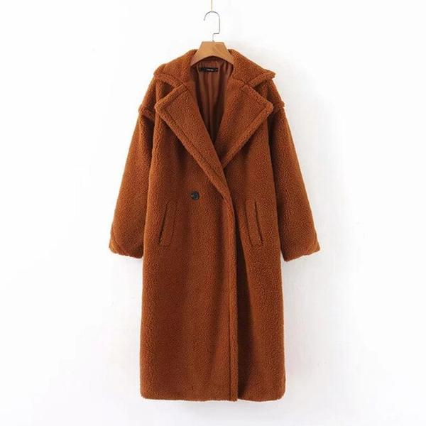 Women's Teddy Overcoat