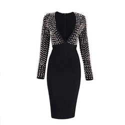 Women's Studded Bandage Dress