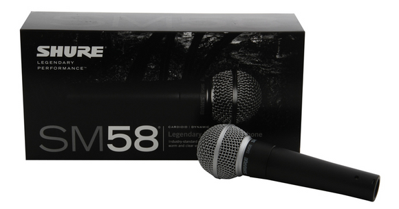 Shure SM58 - SOUNDSTAGEAFRICA