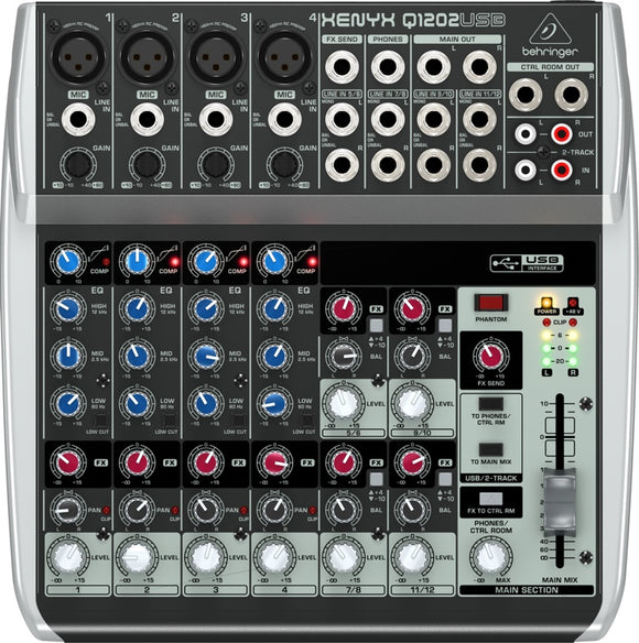 XENYX Q1202USB - SOUNDSTAGEAFRICA