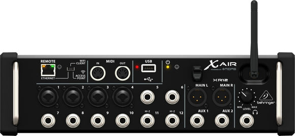 Behringer  X AIR XR12 - SOUNDSTAGEAFRICAZIM