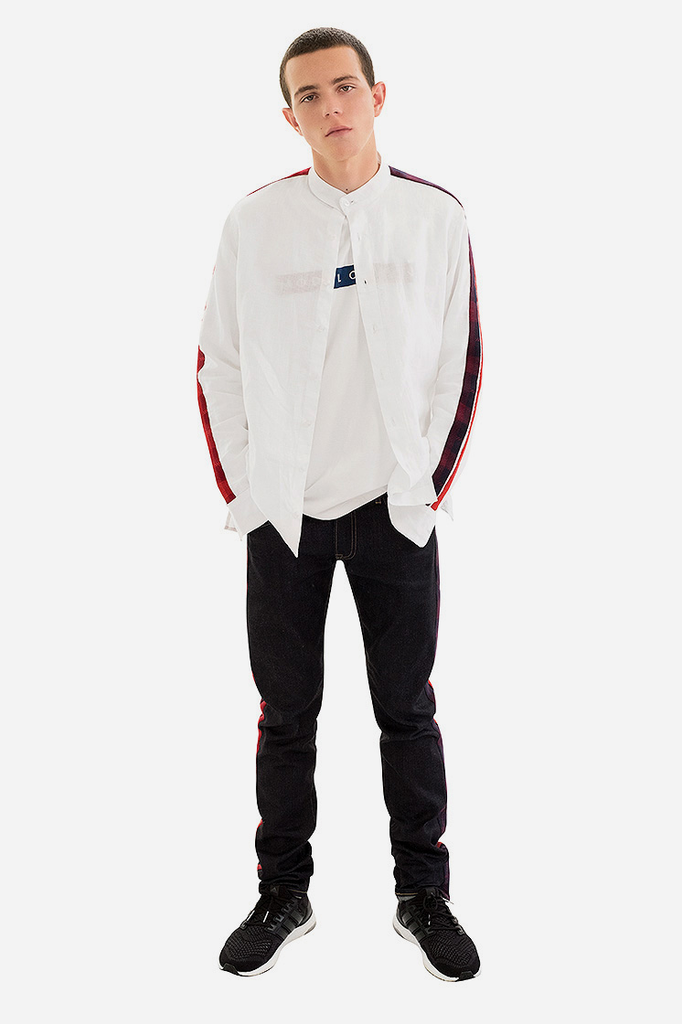 Track Panelled Shirt