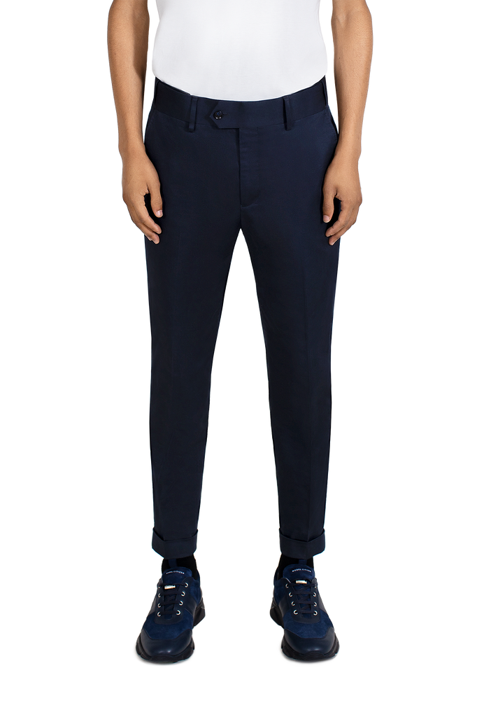 MAINLINE NAVY COTTON CHINOS