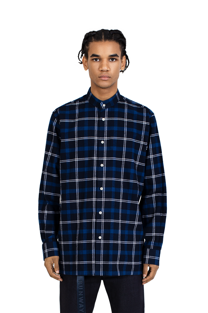 MAINLINE DENIM FLANNEL SHIRT