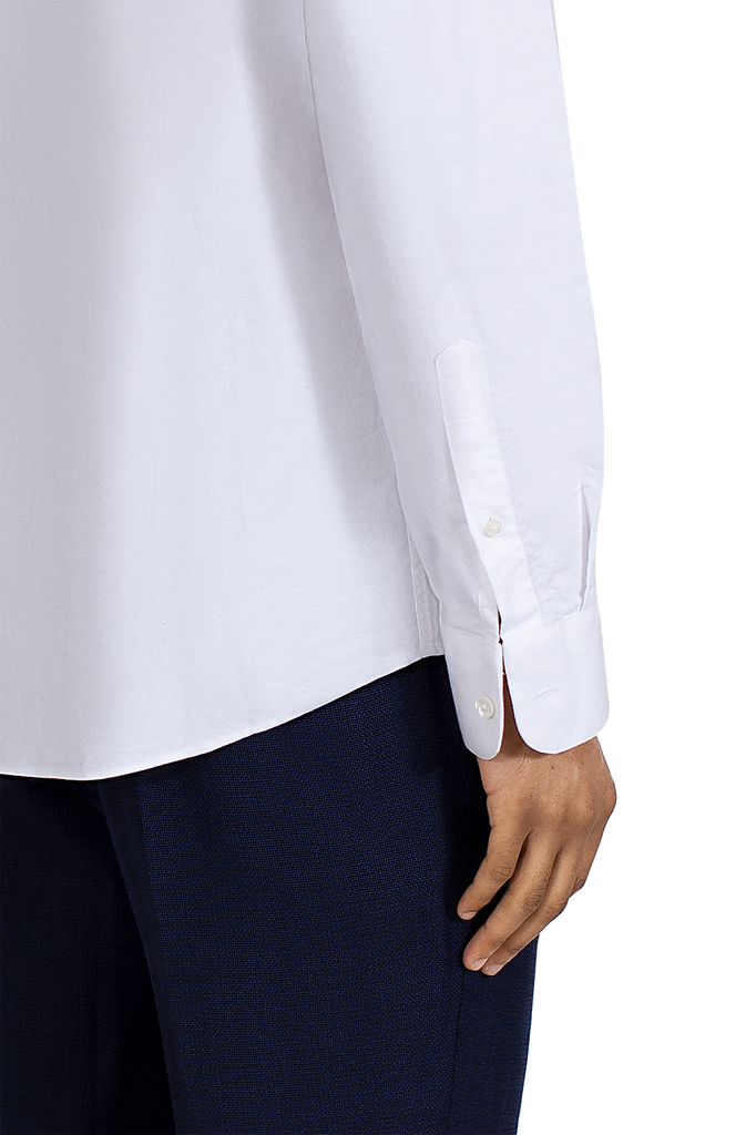 MAINLINE WHITE longsleeve tailored shirt