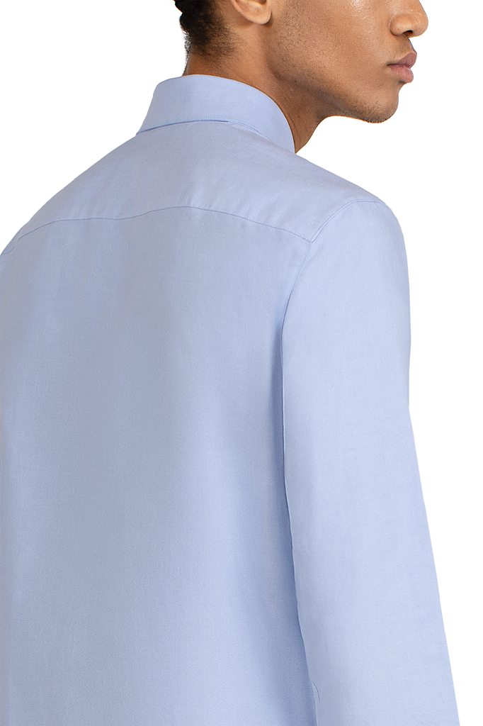 MAINLINE LIGHT blue longsleeve tailored shirt