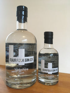 Fourfolk Yorkshire Gin: 42% ABV