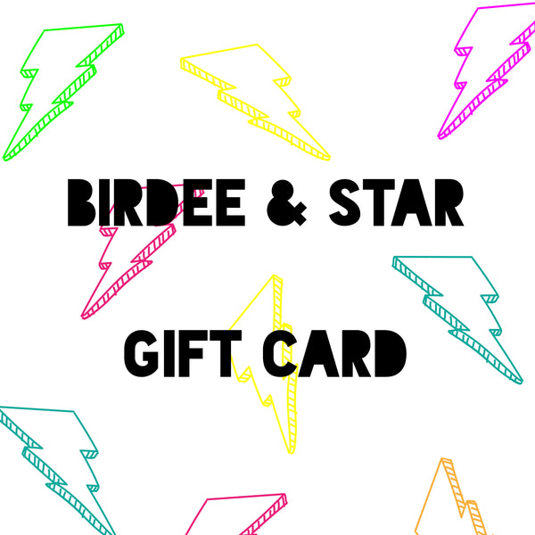 Birdee & Star Gift Cards - Select Amount