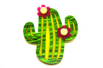 Party Cactus Brooch