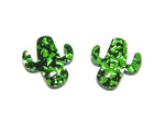 Party Cactus Midi Studs - Various Colours