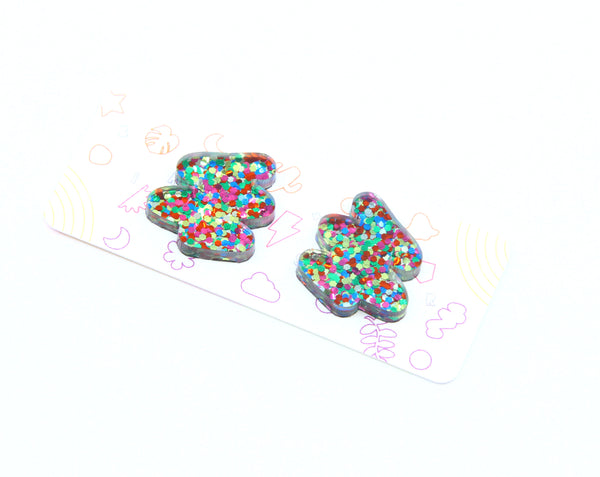 Whozit Small Studs - Various Colours