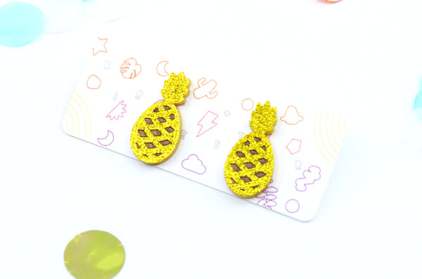 Party Piña Small Studs