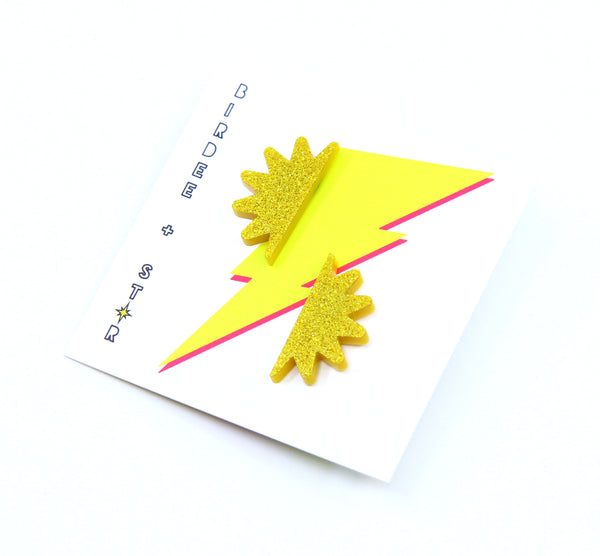 Rayz Sunray Studs - Various Colours