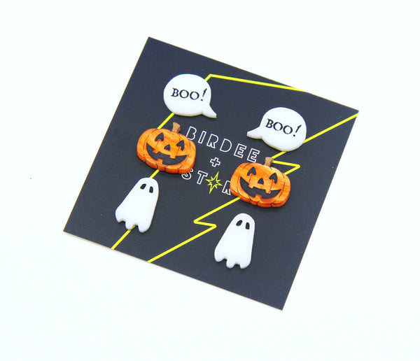 Halloween Mini Stud Trio Pack