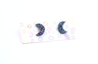 Moonie Studs - Various Colours