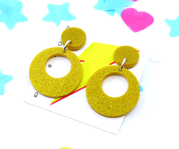 Club Cardi Retro Dangles - Various Colours