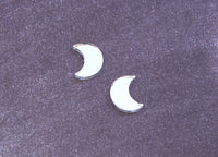 Night Lights Moon Studs - Various Colours