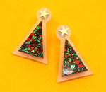 Oh Christmas Tree Studs