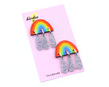 Over The Rain-Bow Studs