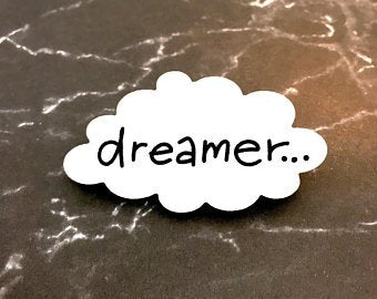 Dreamer Dream Cloud Brooch
