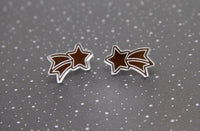 Wish Upon A Star Studs - Various Colours
