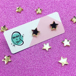Gold Star Mini Studs