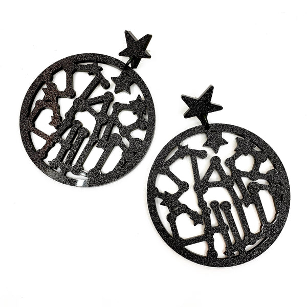 Star Child Extra Large Statement Dangles