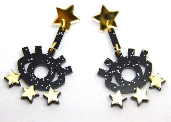 Starry Eyed Dangles