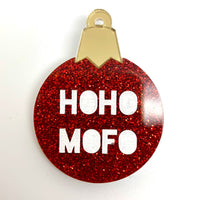 Sassy Christmas Bauble Brooches - Various Styles
