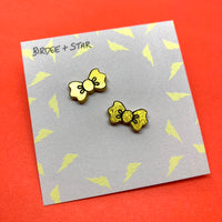 Isla Lionheart Fundraising Bow Studs