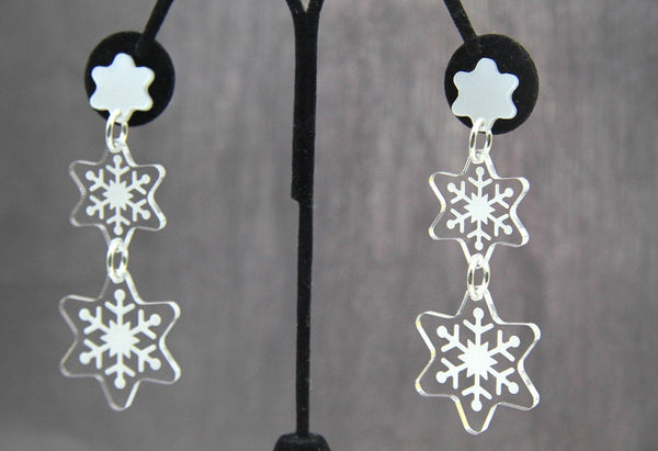 Unique As Snowflakes Dangles