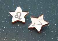 What's Your Sign Zodiac Star Studs - All 12 Signs