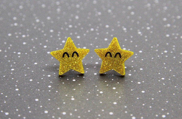 Starry Friends Studs
