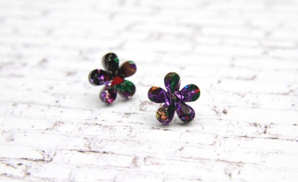 In Bloom Flower Studs - Various Colours