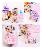 Cat Dog Cloth XS-XL Dog Dress cloth Summer Dress Puppy Pet Clothes For Dog Costume Apparel - VipPetSupply