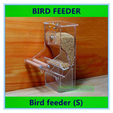 Bird feeder Parrot Integrated Automatic feeder Sparrow Small Bird feeders Birdcage equipment The New waterer - VipPetSupply