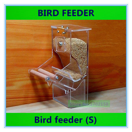 Bird feeder Parrot Integrated Automatic feeder Sparrow Small Bird feeders Birdcage equipment The New waterer