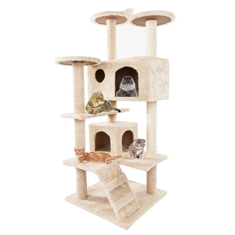 Cat Luxury Furniture 36 80 Inches Pet Cat Tree - Harris & Bains Pet Shop