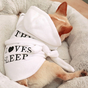 Pet Cotton Bathrobe - Harris & Bains Pet Shop