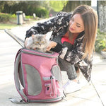 Pet Carrier Travel Backpack - Harris & Bains Pet Shop