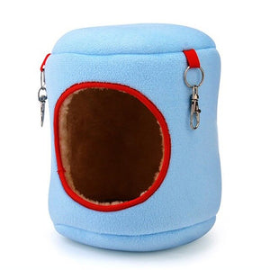 Warm Cotton Hanging Bed For Small Pets, Birds & Cats - Harris & Bains Pet Shop