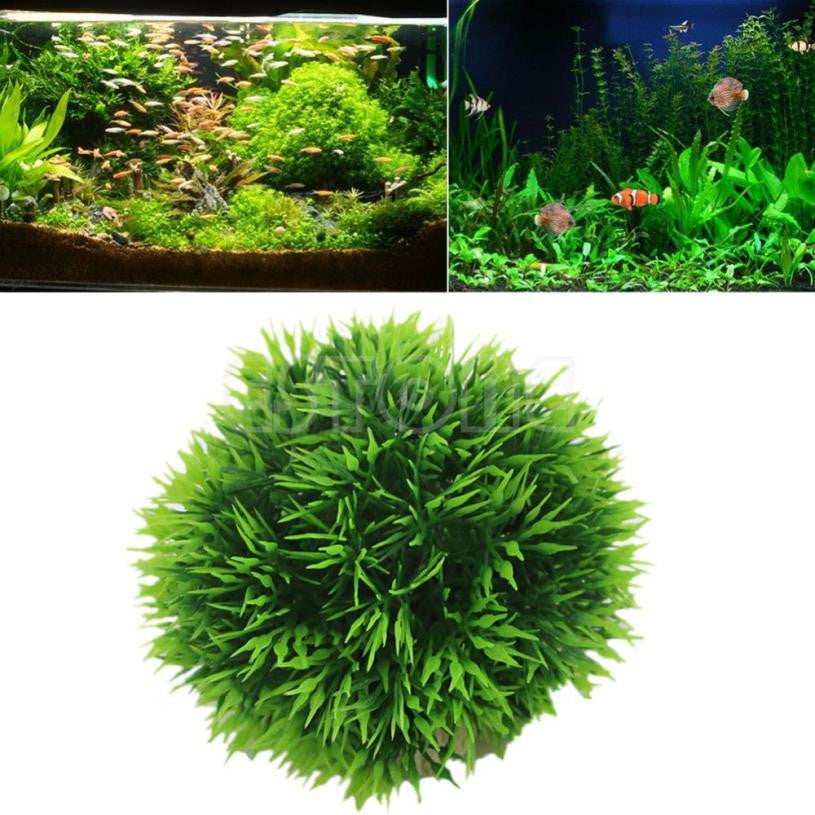 Artificial Plant,  Ornament Plant Decoration For Aquarium - Harris & Bains Pet Shop