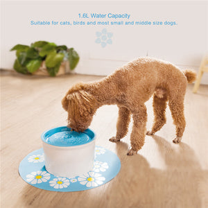 Water Fountain For Cats And Dogs - Harris & Bains Pet Shop