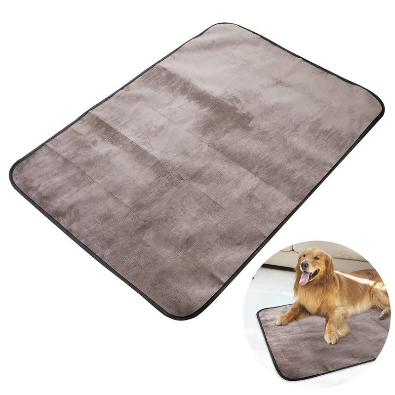 Waterproof Collapsible Plush Blanket Mat / Blanket ( 3 - 5  days delivery ) - Harris & Bains Pet Shop