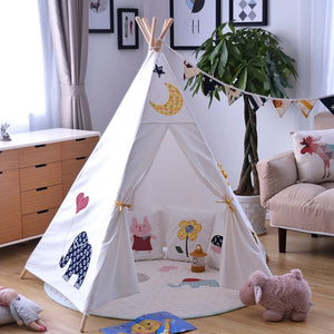 Five Poles Kids Big Play Teepee - Harris & Bains Pet Shop