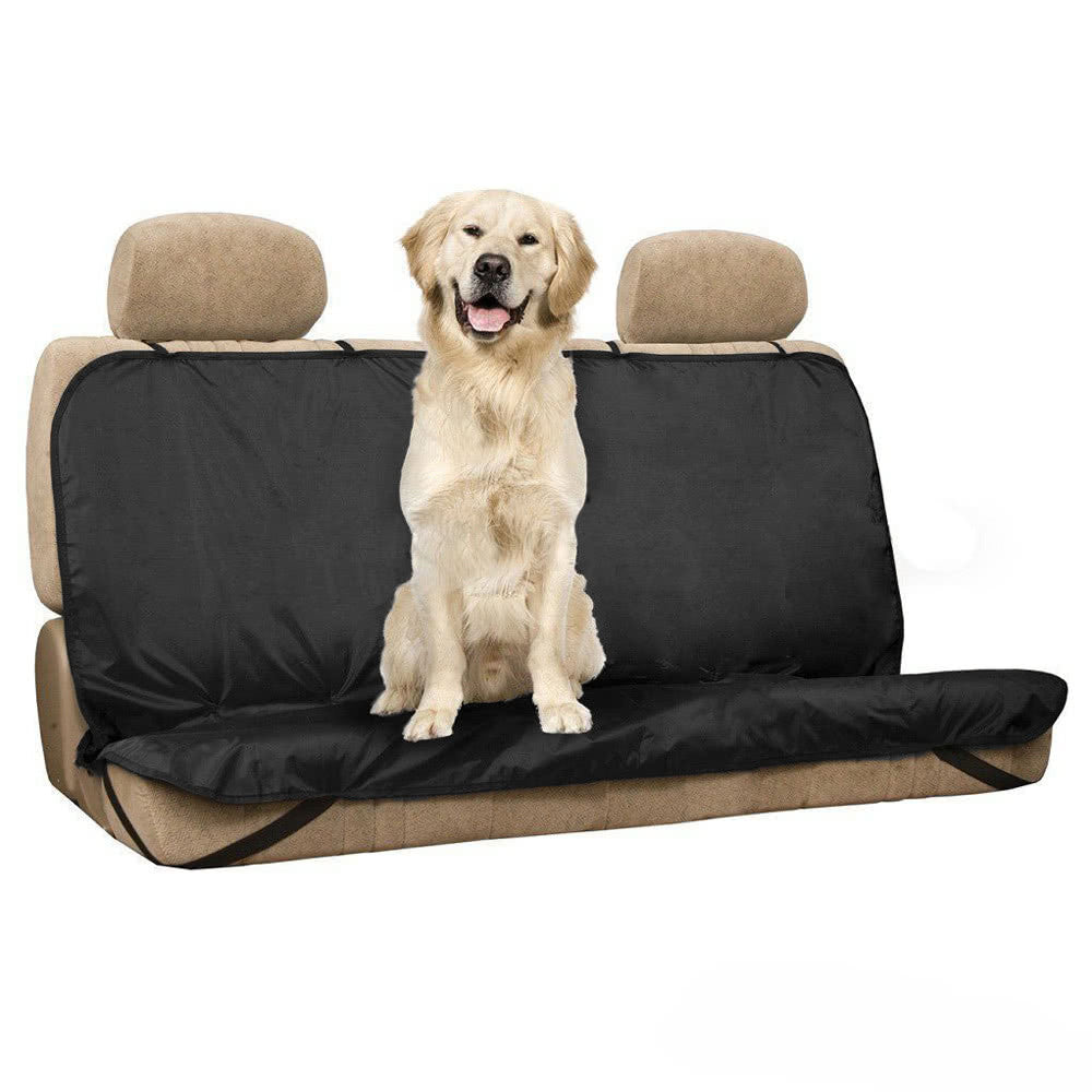 Waterproof Car Seat Covers For The Back Bench Seat With Belts - Harris & Bains Pet Shop