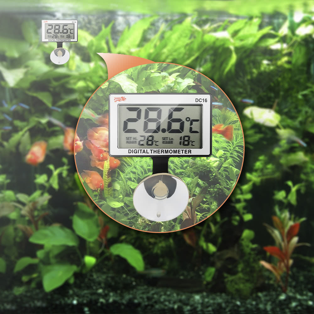 LCD Digital Submersible Fish Tank Thermometer - Harris & Bains Pet Shop